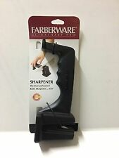 FARBERWARE ULTRA PROFESSIONAL CHEF KNIFE SHARPENER CERAMIC RODS FULST11
