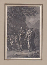 """""""Die Flucht nach Egypten"""" KSt. von Schuler bei Herder 1790"""