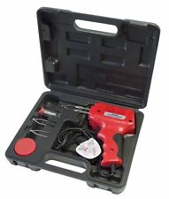 HEAVY DUTY 175W SOLDERING GUN IRON & 3 TIPS IN STORAGE CASE HOBBY CRAFTS SOLDER