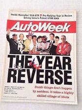 Autoweek Magazine Mercedes' CLK-GTR V70R AWD December 29, 1997 020617RH