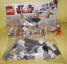 LEGO STAR WARS REBEL TROOPER BATTLE PACK 8083 4 AVAILABLE