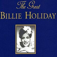 THE GREAT BILLIE HOLIDAY 7 3 DISC BOX SET 54 TRACKS RAJON MUSIC UK CD L NEW RARE
