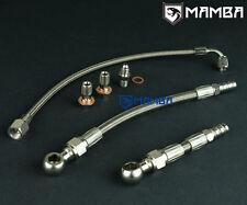 Mamba turbo OIL & Water Line Kit Pour Subaru FA20T OEM Garrett MGT2259S