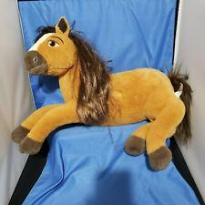 "Spirit Riding Free Large 19"" Plush Horse Spirit Horse Dreamworks"