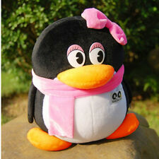 QQ Penguin Plush Stuffed Animal Soft Doll QQ girl Cartoon Kid Birthday Gift 20cm