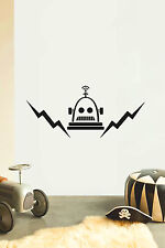 ROBOT No7 Children's bedroom nursery vinyl sticker wall transfer art home decor