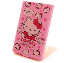 NEW Hello Kitty character cute cosmetic portable mirror&comb set