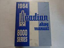 1964 Pontiac Acadian 8000 Series Shop Manual STAINED MINOR WEAR FACTORY OEM DEAL