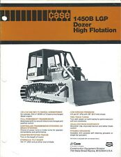 Equipment Brochure - Case - 1450B Lgp - Dozer High Flotation - c1980 (E4141)