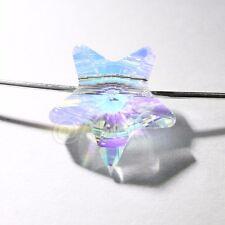 4 pieces Genuine Swarovski Element Crystal 5714 12mm Star Beads CLEAR AB