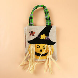 Ghost Festival Candy Plastic Bag Halloween bag Top-handle Bags Halloween tote AA