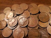 Teens And Twenties Lincoln Wheat Cent Roll 1909-1929 PDS