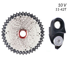 Cassette 10 Velocidades 11-42 Dientes con Expansion Bicicleta MTB Shimano y Sram