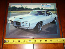 1969 PONTIAC TRANS AM - ORIGINAL 1988 ARTICLE