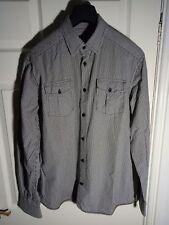 Jack & Jones Black/ White Check shirt M Good Condition