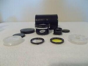 YASHICA Yashinon AUX TELEPHOTO Lens, Yashinon AUX TELEPHOTO Viewer & FILTERS