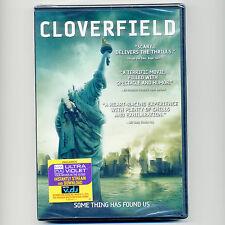 Cloverfield, 2008 PG-13 monster movie, new DVD, sci fi horror creature feature