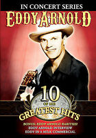 Eddy Arnold 10 of the Greatest Hits NEW DVD FREE SHIPPING!!