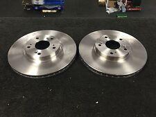 Brake Discs 2x Front for HONDA ACCORD 2.0 2.2 2.4 CTDi CL CM Delphi