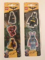 Lego Batman Movie Eraser Set Bundle - School Rubber Stationery Erasers DC Comics