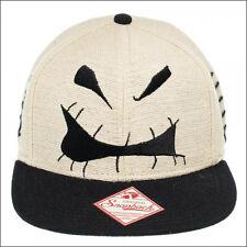 Nightmare Before Christmas Jack Face Costume Cosplay Snapback Cap Baseball Hat