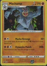 Pokemon Machamp SWSH053 black star promo mint condition