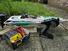 KYOSHO SPEED VEE 800 RC ELECTRIC BOAT COMPLETE NEW (see description)