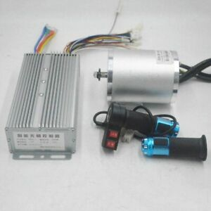 72V 3000W electric motor With BLDC Controller 3-speed throttle For Electric