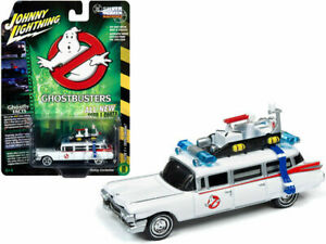 GHOSTBUSTERS Ecto 1A Cadillac***Johnny Lightning Auto World 1:64 NEW MODEL 2020