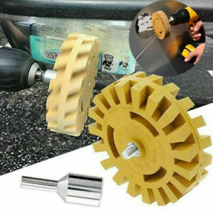 Car Rubber Eraser Wheel Paint Sticker Remover Wheel Decal Glue Tape Cleaner