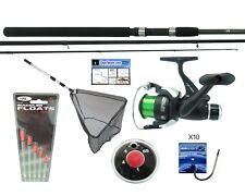 11' Float Fishing Kit With Hunter Pro Rod & Reel. Inc. Net Floats Weights Hooks