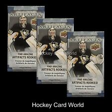 (HCW)  2013-14 Upper Deck Artifacts Hockey Retail Pack x3 Lot - MacKinnon, ++