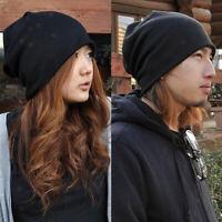 Winter Warm Women Men Beanie Hat Oversize Slouchy Baggy Ski Cap Skull