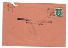 FRANCOBOLLI 1934 REGNO MARCA DA BOLLO 10 CENTESIMI SU BUSTA D/3459