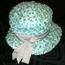 *Reduced* Vintage United Hatters&Millinery Workers Union Gorgeous Pastel Hat Usa