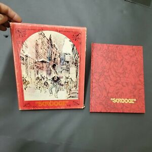 SCROOGE - (1970, 1st Edition) by Donaldson, Elaine - Drawings by Ronald Searle