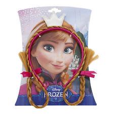 Disney's Frozen Filles Anna Bandeau avec tressé,Patch Couronne,Médaillon &