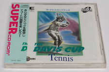 The Davis Cup Tennis PC Engine Super CD-ROM Turbo Duo Duo-RX * Brand New Sealed