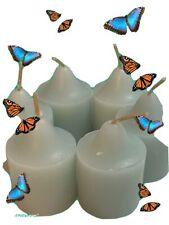 "6-Candles PartyLite ""Calm Waters Brise Marine� Aqua New In Box"