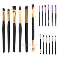Pro Makeup Cosmetic 6pcs Eyeshadow Brushes Set Powder Foundation Brush Tool