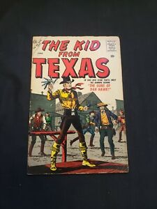 THE KID FROM TEXAS (VG+) ISSUE #1, THE GUNS OF DAN HAWK 1957