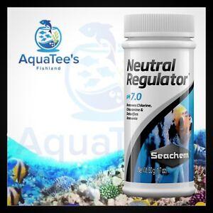 Seachem * Neutral Regulator * 50g Adjusts pH to neutral pH 7.0 Water Conditioner