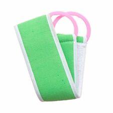 Bathroom Bath Towel Rub Brush Pull Back Strip Scrubber Exfoliating Scrub Tool US