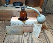 Vintage Eagle Atomizer for Nose and Throat #150 w/Original Box & Paperwork