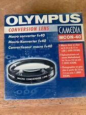 Olympus Conversión Lente MCON-40