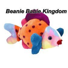 "Ty  Beanie Buddy * LIPS *  The Multi Coloured Fish 13""  09355"