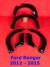 FORD Ranger 2012 - 2015 T6 RAPTOR Passaruota Kit-Fender razzi Gloss Nero