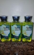 3 BATH AND BODY WORKS TAHITI ISLAND DREAM SHOWER GEL 10 OZ EACH