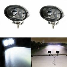 2X 10W Cree LED Work Light Offroad Driving Fog Lamp Spot Motorcycle 4WD UTE 12V