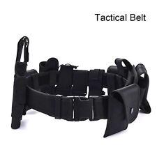 Security Tactical Patrol Belt & Pouch System Police Prison Guard Utility Kit Set
